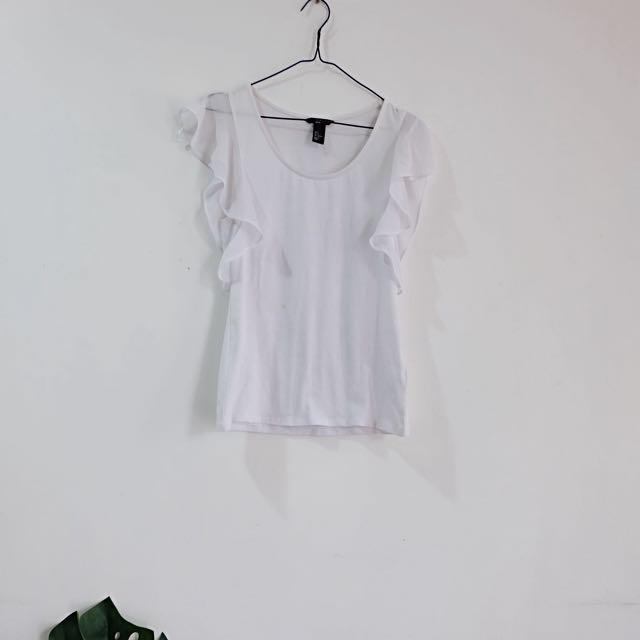 Forever 21 White T-shirt