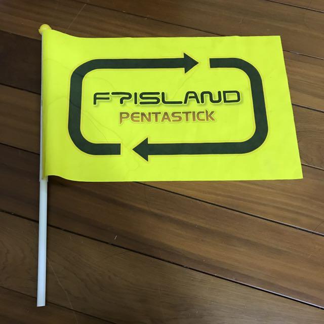 FTISLAND 2012年韓版旗幟