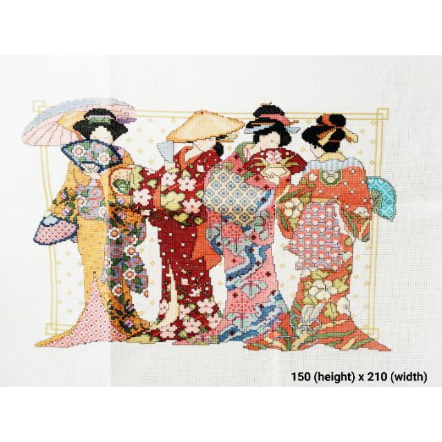 Geisha Cross-stitch