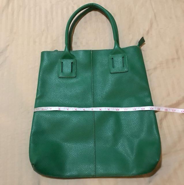 Green Chloe Bag (14x15inches)