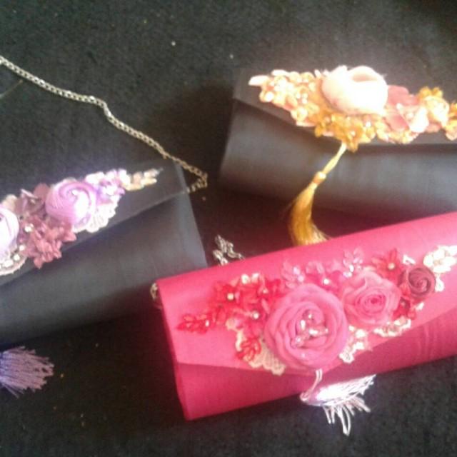 Handmade Flower Bag