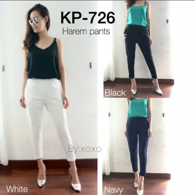Hareem Pants (White)