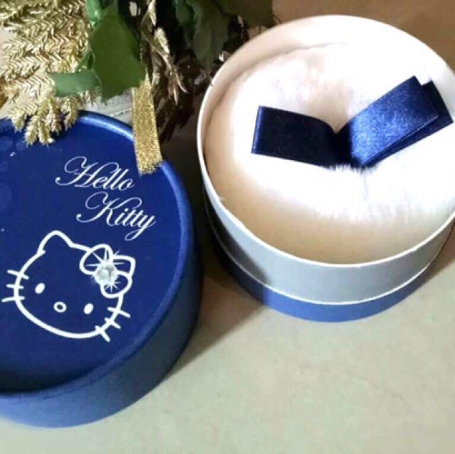 Hello Kitty powder puff