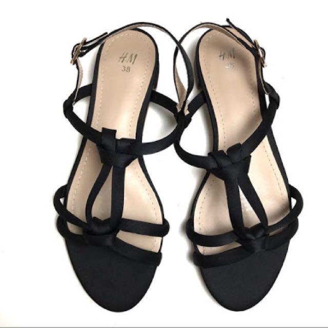 H&M Black Knot Sandal