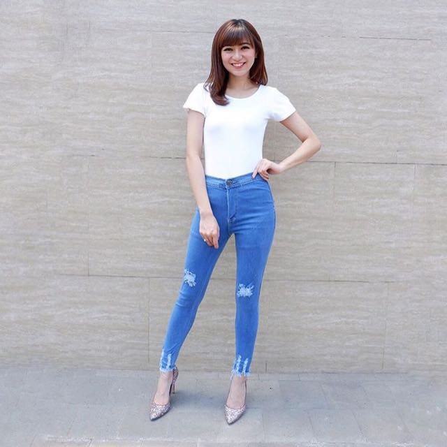 hw jeans belle
