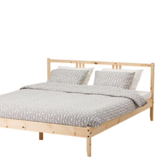 雙人床架IKEA