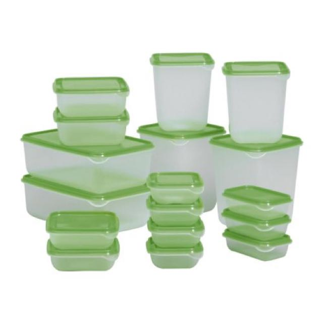 Ikea Container  17 Pc Murah!