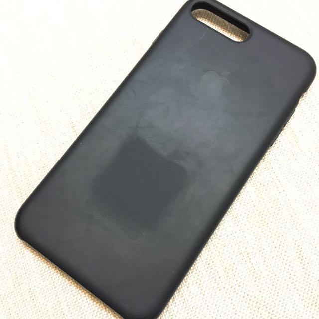 iphone7/8 plus 矽膠保護套 黑