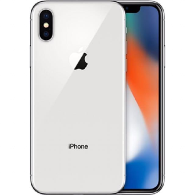 iPhone X 銀 64G