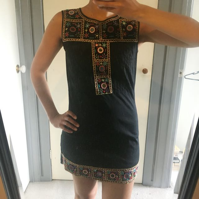 ISHKA 'mirror' dress