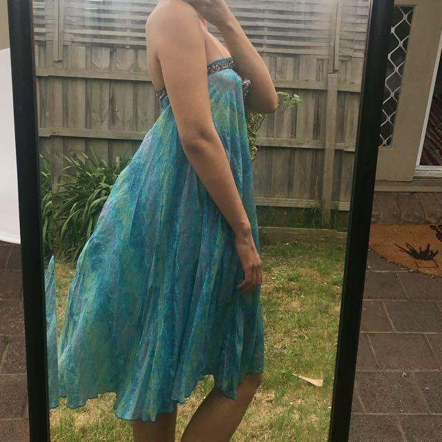 ISHKA silk dress / skirt