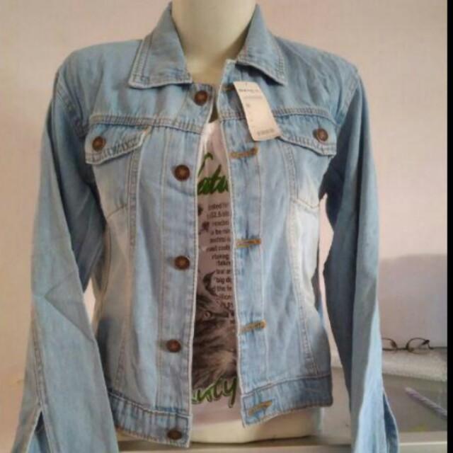Jaket Jeans (Biru Muda)