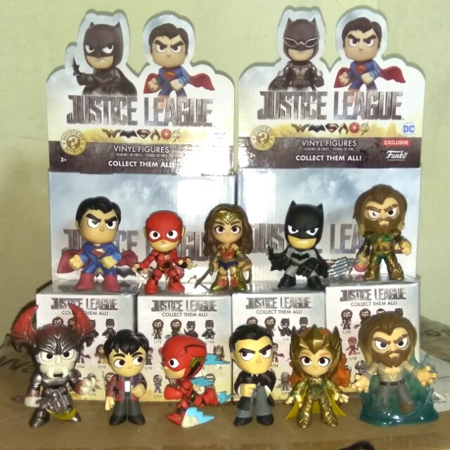 Funko Mystery Minis Justice League The Flash Running 1//12