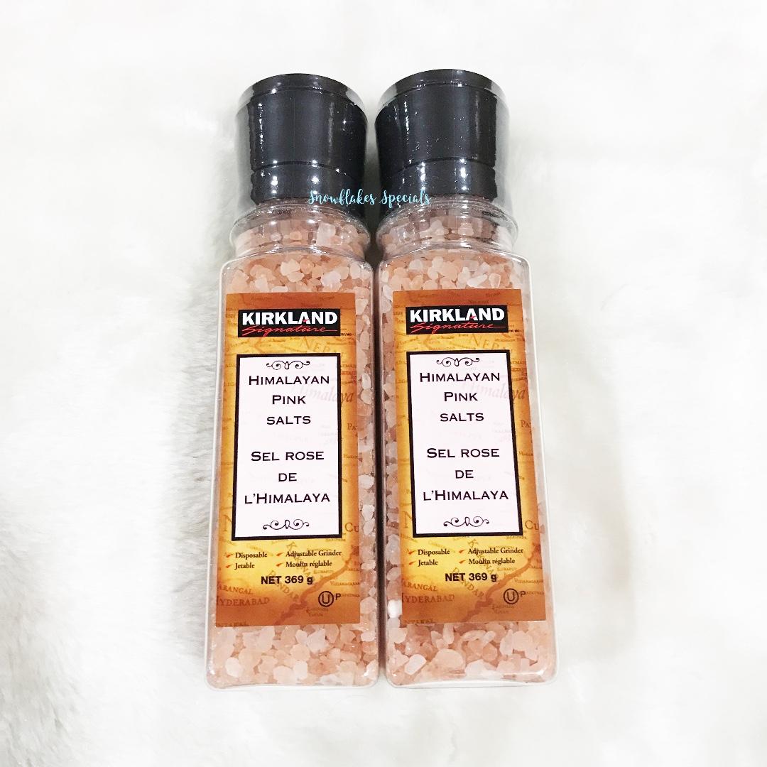 Kirkland Himalayan Pink Salt with Grinder