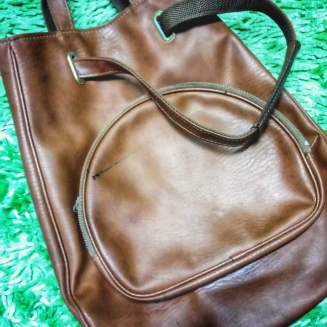 Korean leather bag