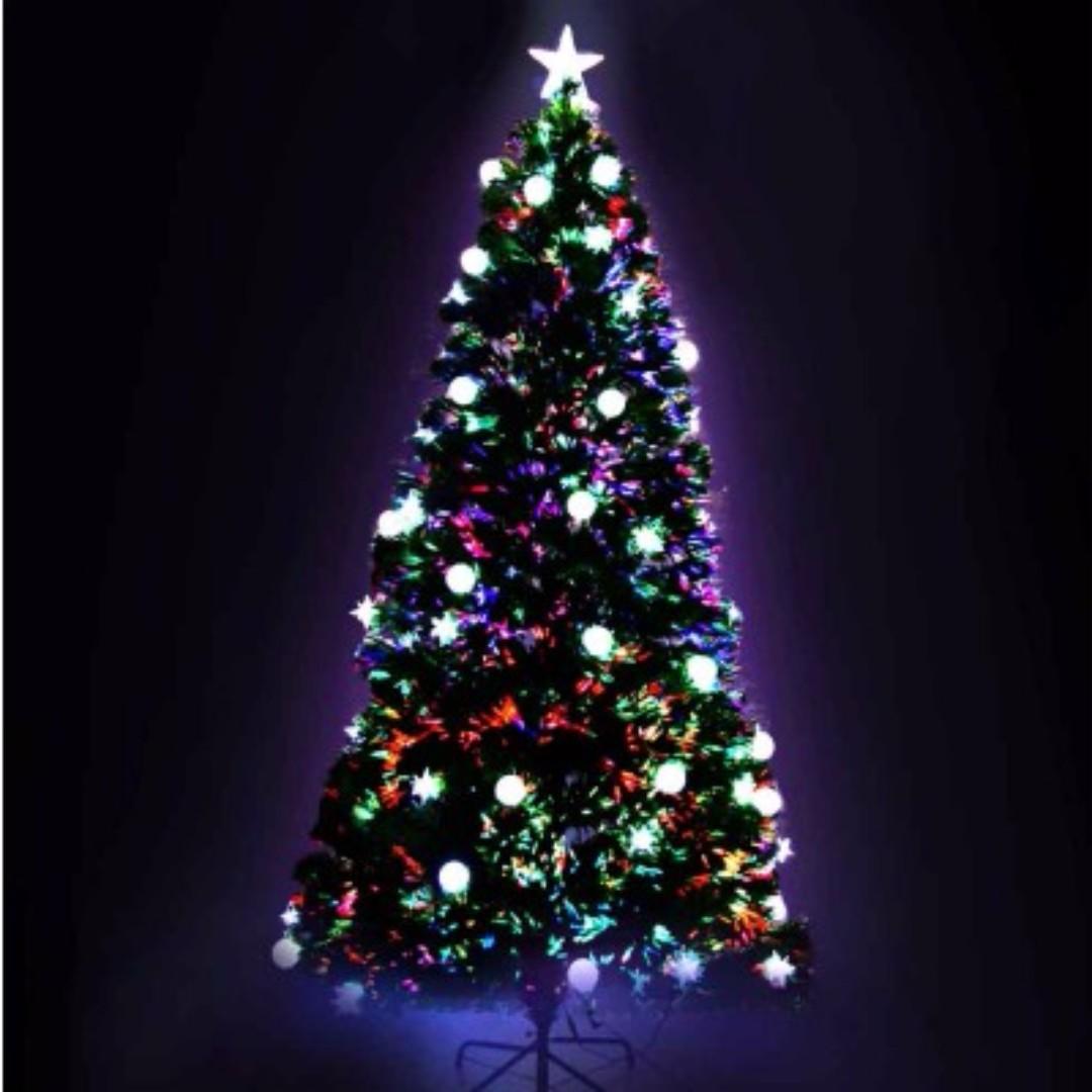 LED Christmas Tree - 210cm SKU: XM-TR-LED-7F-MOON-GR