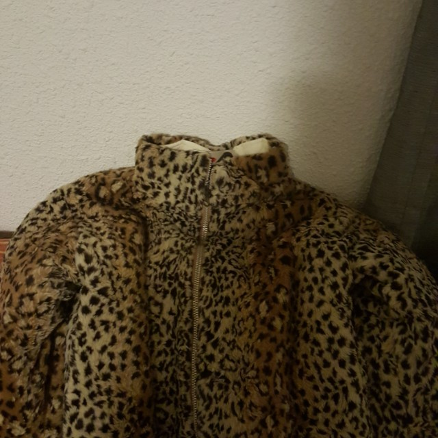 Lepard print jacket for