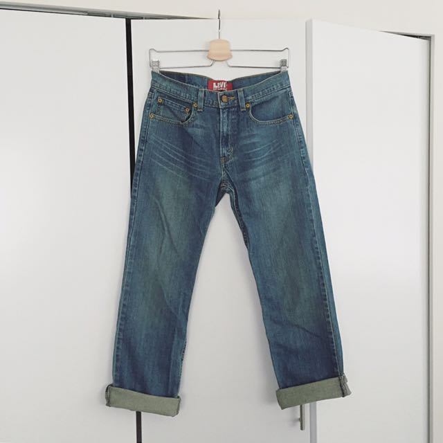 Levi's 514 boyfriend jeans