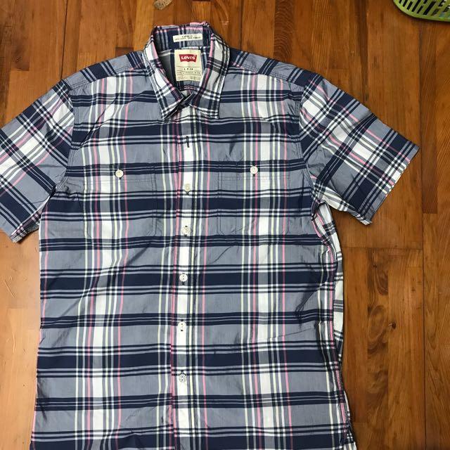Levi's 男上衣 Polo衫 全新已剪標 襯衫 購自日本