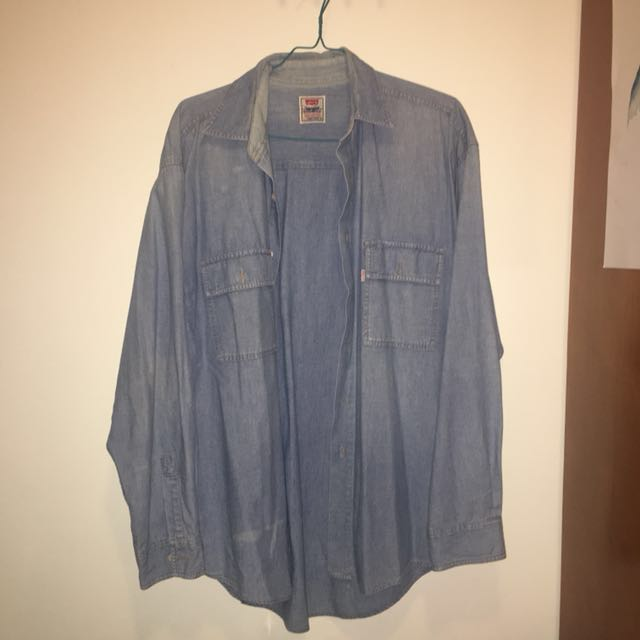 Levis Denim Shirt M
