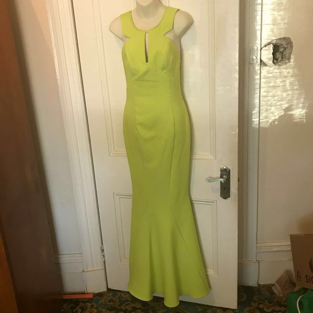 Lime Sheike Dress 8