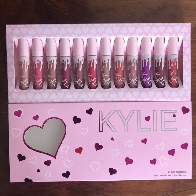 Limited Edition Brand New kylie Jenner 12 lipstick set-free Delivery Limited Time only