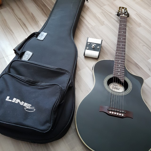 Line 6 Variax Acoustic 700 Black Music Media Instruments