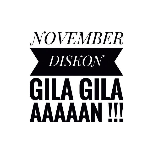 Lovember Diskon !!!