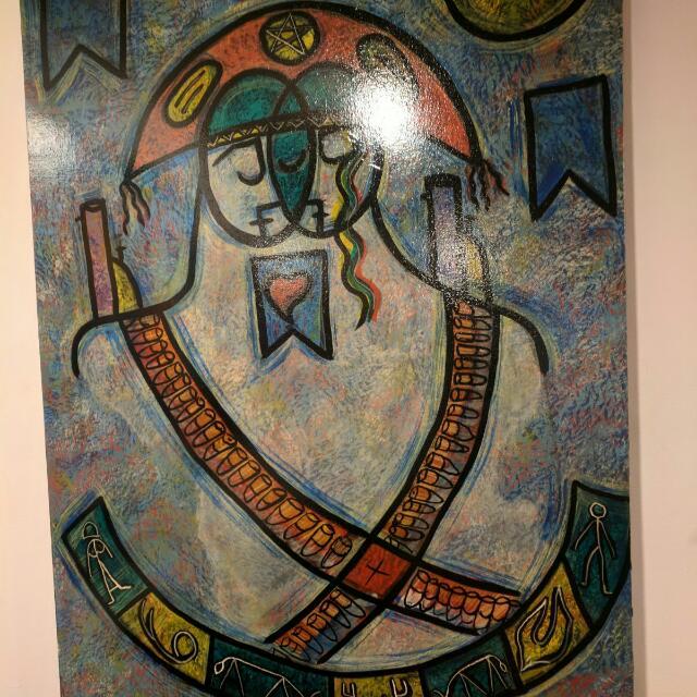 Lukisan Kontemporer $1800