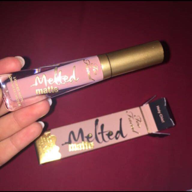 Matte Too Faced Liquid Lipstick