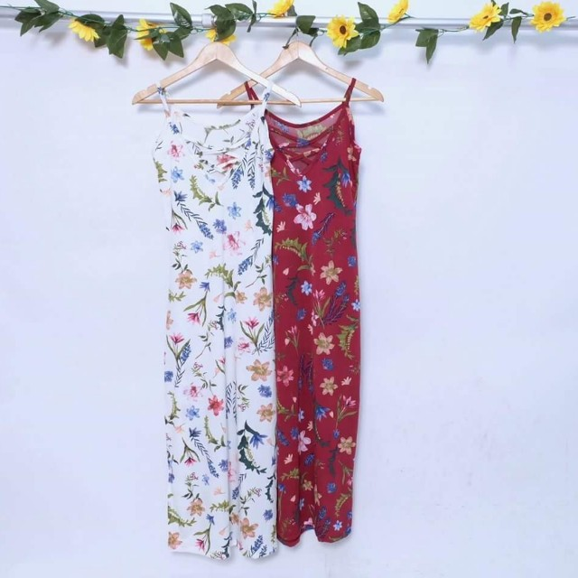Maxi Dress With Side Slit