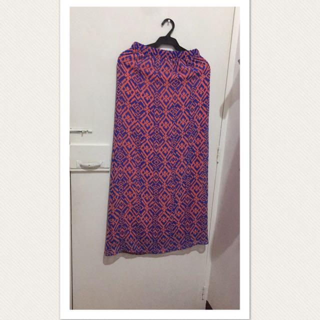 Maxi Skirt Branded