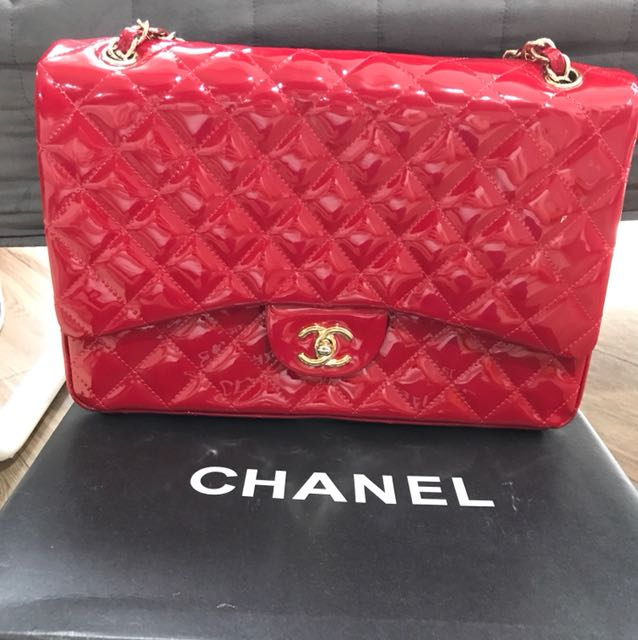 Mirror Red Bag