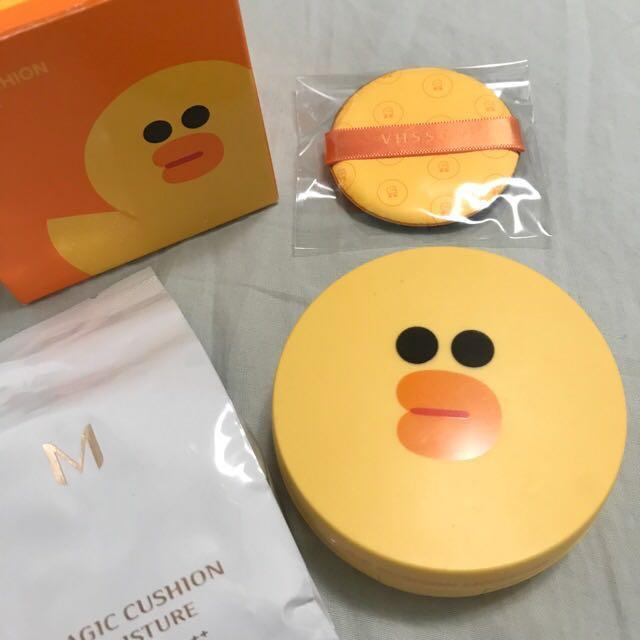 降〽️Missha 氣墊粉餅 Line 莎莉款 保濕 韓國