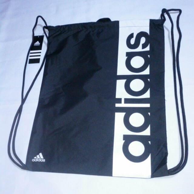 💞Missy's ADIDAS Black Drawstring Bag