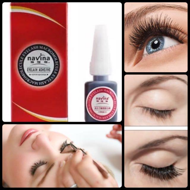 03850ab09f6 Navina Black Odorless Individual False Eyelash Extension Eyelash ...