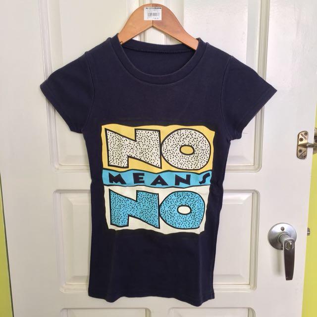 Navy Blue Statement Shirt