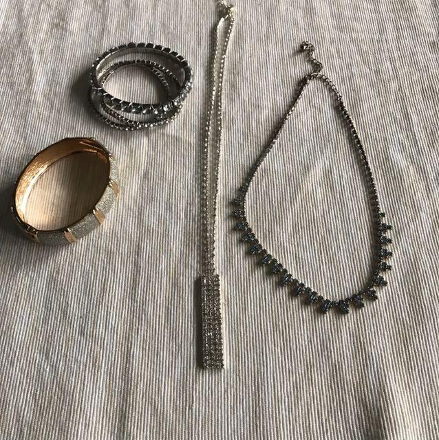Necklace & bracelet ( all for $15)