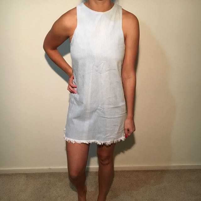 NEUW Branded Denim Dress