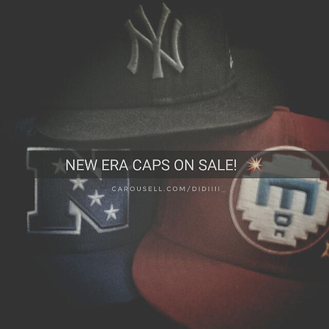 NEW ERA CAPS ON SALE! 💥
