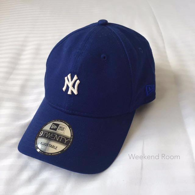 New Era 洋基小Logo 深藍 老帽 ⚾️