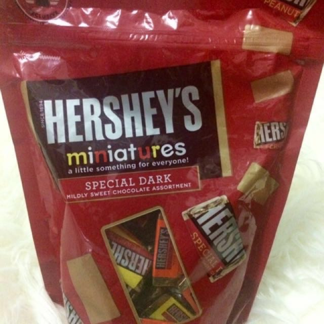 NEW, SALE - Hershey's Miniatures Special Dark Chocolates Assortment (LARGE pack)