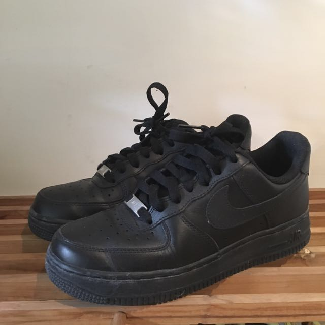 Nike air force 全黑 size:24