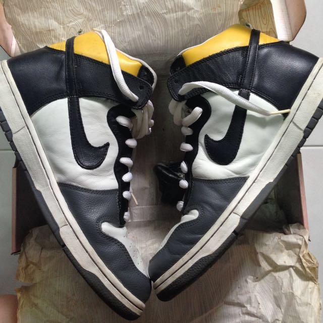 timeless design f12ad 295c6 Nike Dunk Hi Pro SB Daniel Shimizu USED, Sports on Carousell