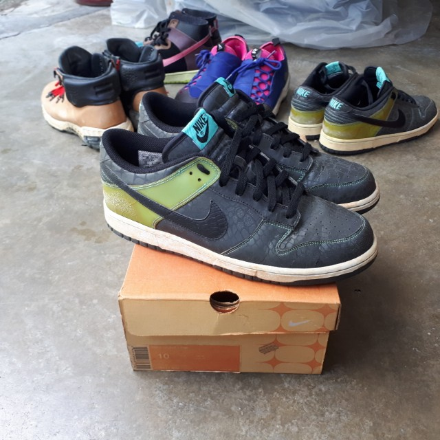 huge selection of 1efac e150f Nike Dunk Low Croc Pack 3M Reflective US10