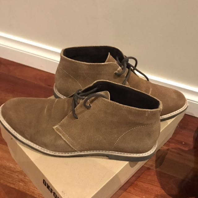 Oxford Suede Dress Boots (Size 43)
