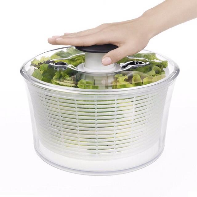OXO按壓式蔬果脫水器(大)4人份以上