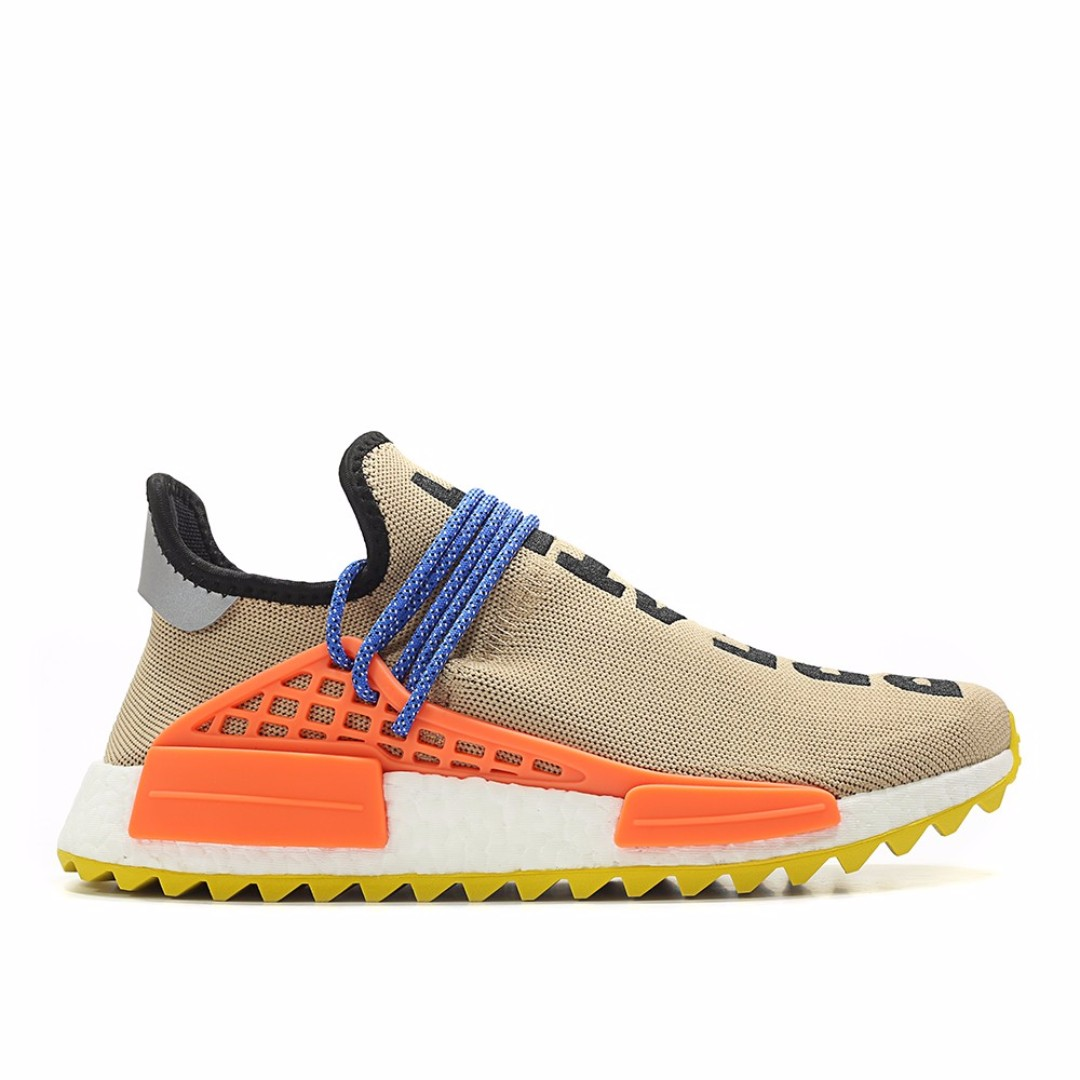 Pharrell Williams x Adidas NMD Hu Trail Pale nude ac7361, hombres