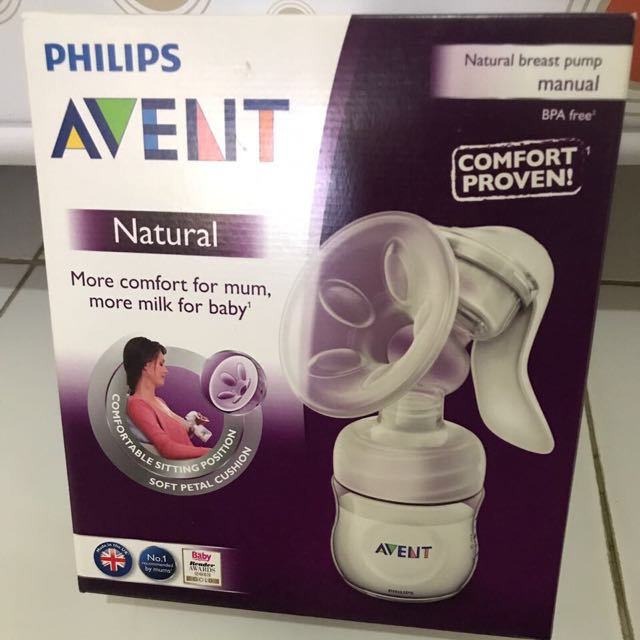 Philips Avent Breast Pumping Manual