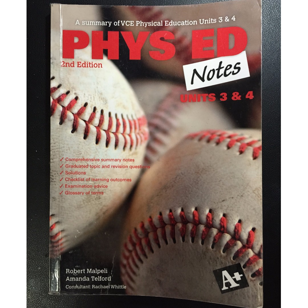 Physical Education Unit 3&4 notes